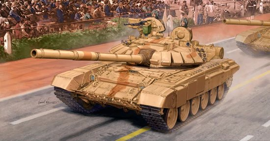 Indian T-90S MBT Trumpeter - Nr. 05561 - 1:35