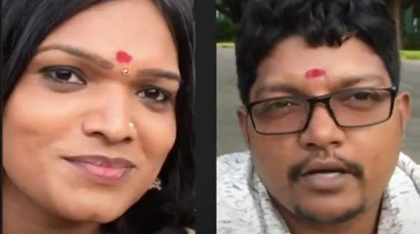 Кадр видео «Meet India's first complete transgender couple». Скриншот © Daily Storm