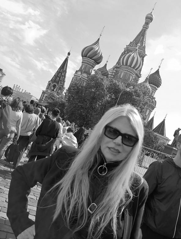 Red Square I wast there...Farewell Russia...Til next time...\m/