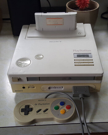 Прототип Super NES PlayStation