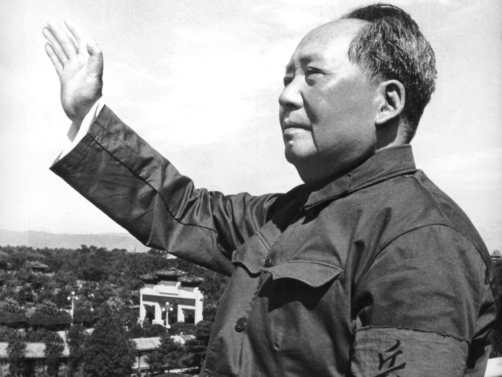 Mao Zedong - Chairman of the CPC Central Committee.  Photo from the site: culture.dwnews.com