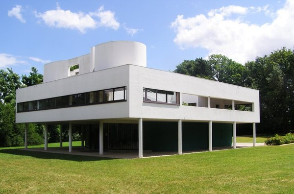 Villa Savoye. Poissy, France. Architects: Le Corbusier and Pierre Jeanneret