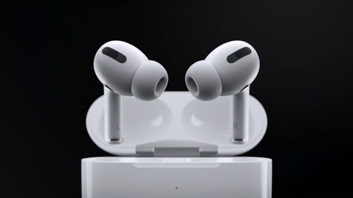 AirPods Pro . Фото: YouTube канал Apple