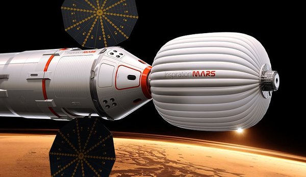 Inspiration Mars Capsule by Inspiration Mars Foundation is licensed under CC BY-SA 2.0