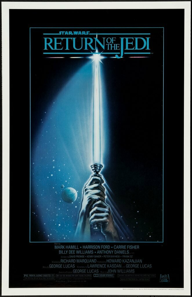 "Return of the Jedi - Style ""A"" poster by Tim Reamer"