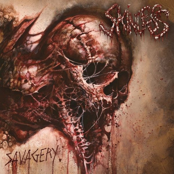 """Обложка альбома Skinless """"Savagery"""""""