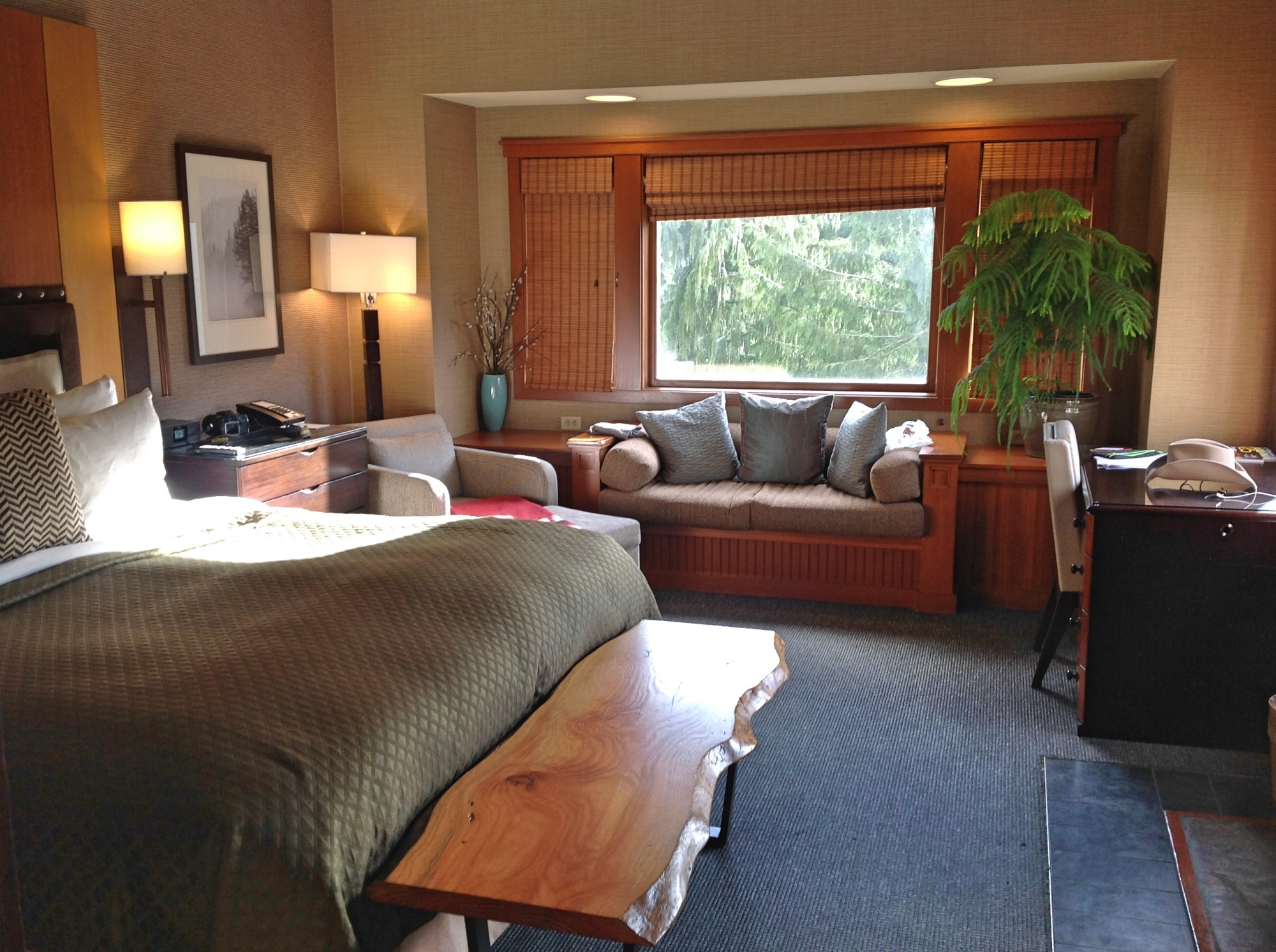 Номер отеля Salish Lodge&Spa