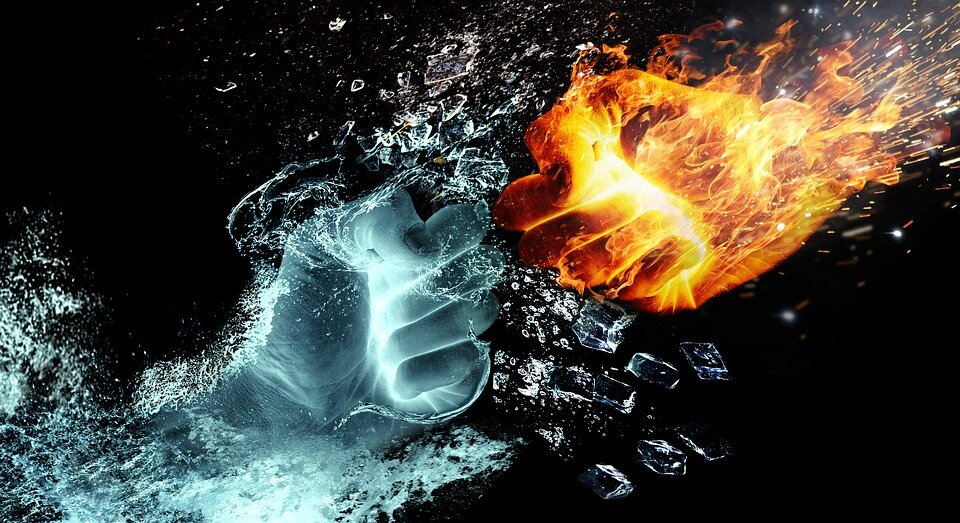 https://pixabay.com/illustrations/fire-and-water-fight-hands-fire-2354583/