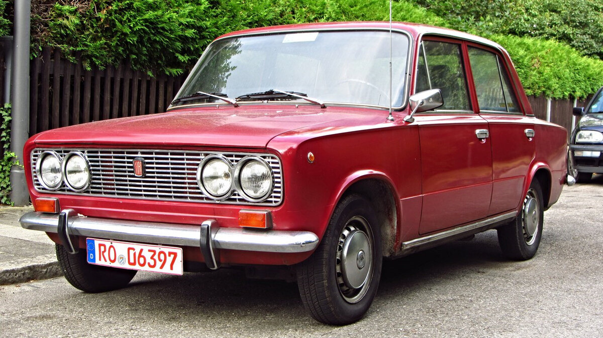 Fiat 124 Speciale(ВАЗ 2103)