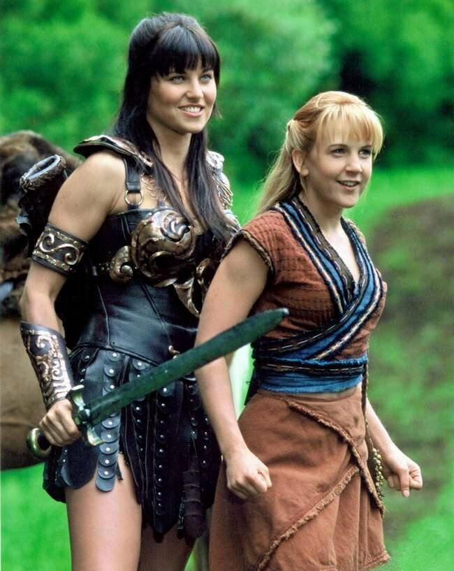 Xena and gabrielle's breasts