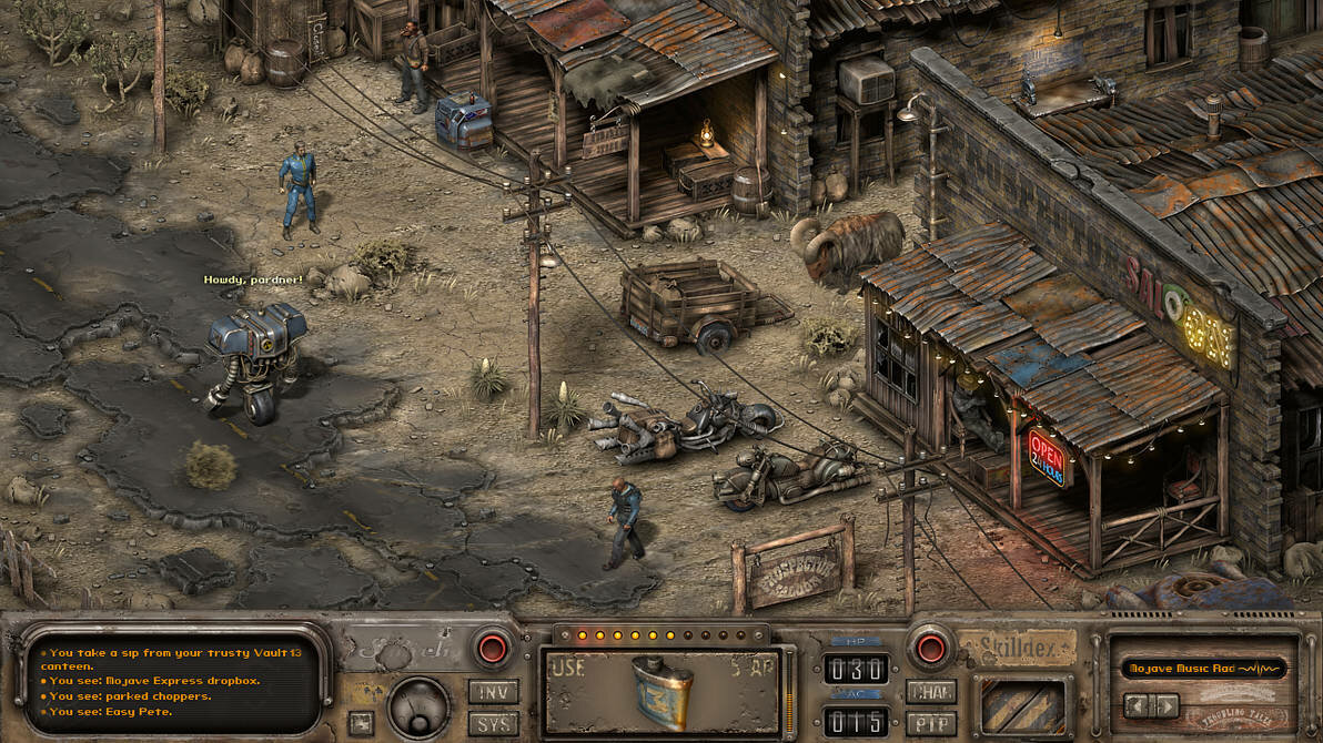 Isometric Fallout: New Vegas by Red888guns