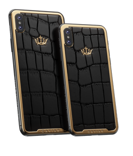 332 000 Р ПодробнееCaviar iPhone Xs | Xs MaxClassic Alligator Black