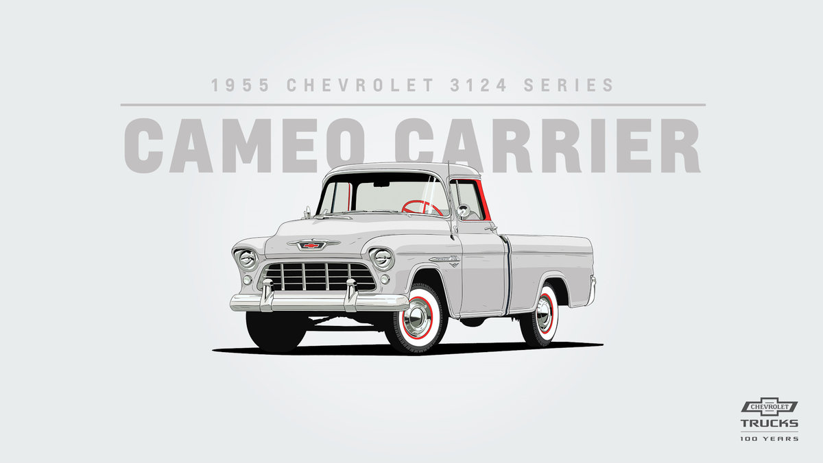 Chevrolet 3124 Series Cameo Carrier (1955)