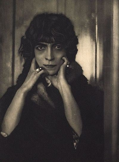 La Marchesa Casati by A. De Meyer, 1919
