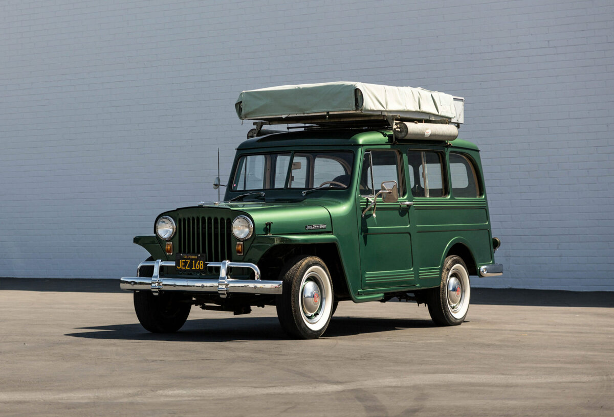 Willys Jeep Station Wagon Camper 1949