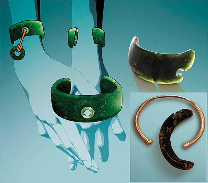 Фото: http://siberiantimes.com/science/casestudy/features/f0100-stone-bracelet-is-oldest-ever-found-in-the-world/