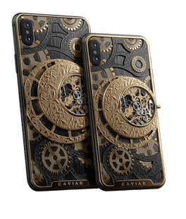 266 000 Р Подробнее Caviar iPhone Xs | Xs MaxGrand Complications Skeleton Gold