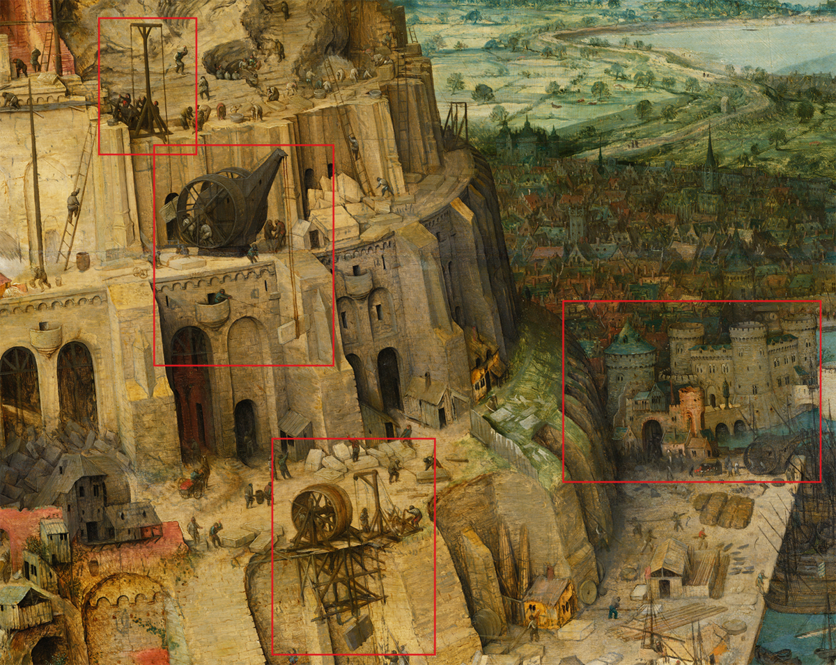 Автор: Питер Брейгель Старший - Levels adjusted from File:Pieter_Bruegel_the_Elder_-_The_Tower_of_Babel_(Vienna)_-_Google_Art_Project.jpg, originally from Google Art Project., Общественное достояние, https://commons.wikimedia.org/w/index.php?curid=22179117