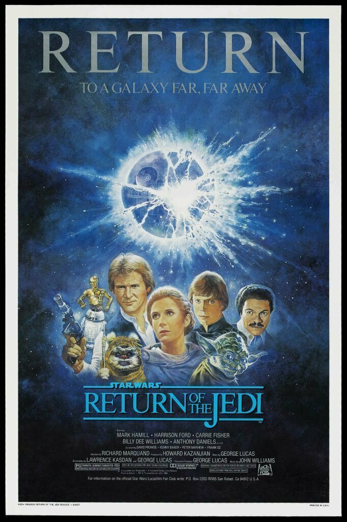 Return of the Jedi - 1985 Re-Release poster by Tom Jung