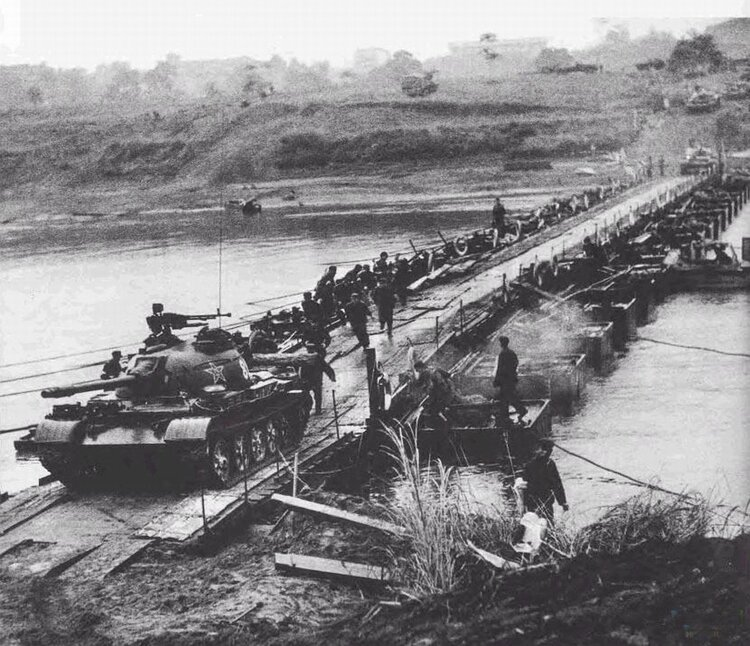 The Chinese invasion of Vietnam in 1979.  Photo from the site: forumbarang.ru
