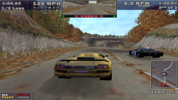 Need for Speed: Hot Pursuit (1998)