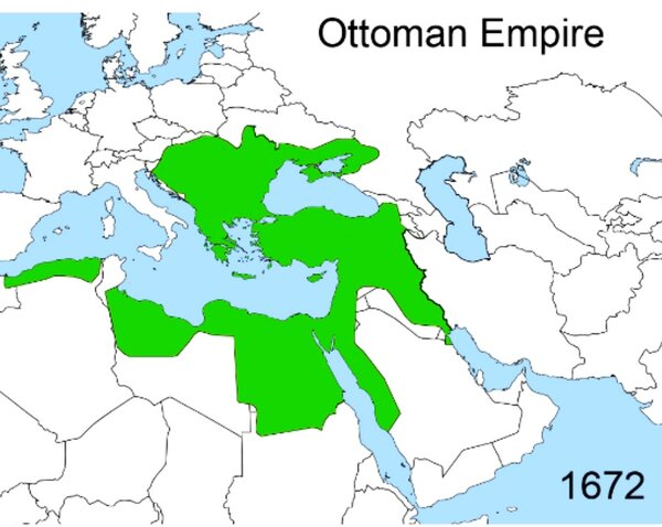 Ottoman Empire by the end of the 17th century