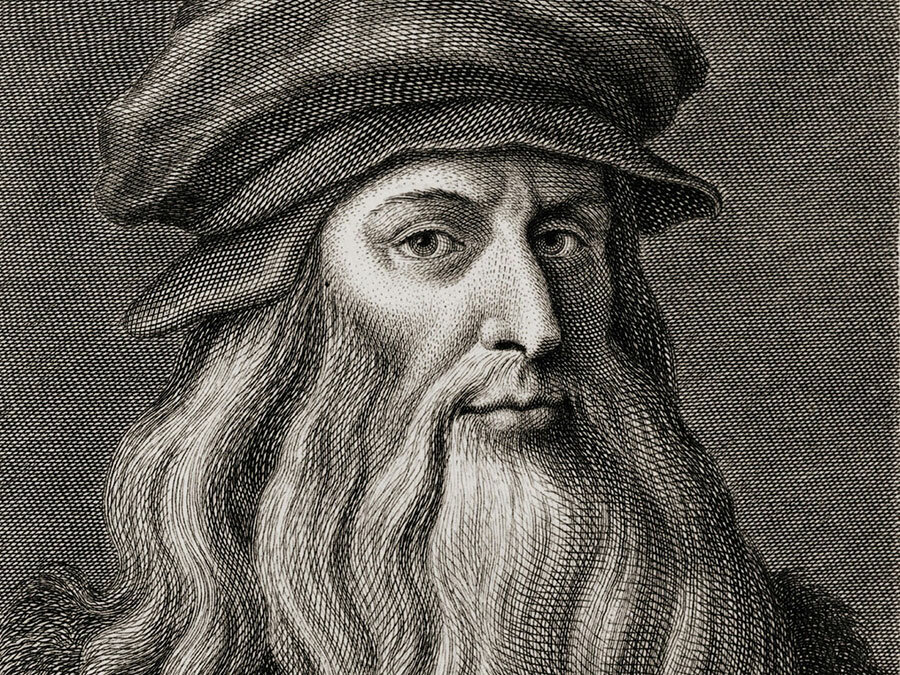 Leonardo da Vinci. source: Yandex.Pictures