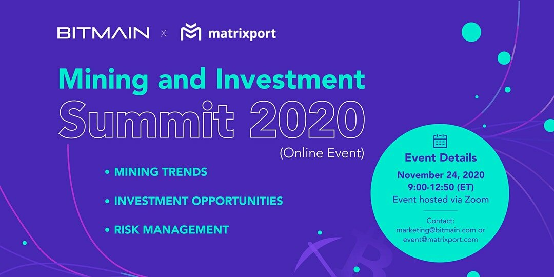 Mining and Investment Summit 2020 (Online)