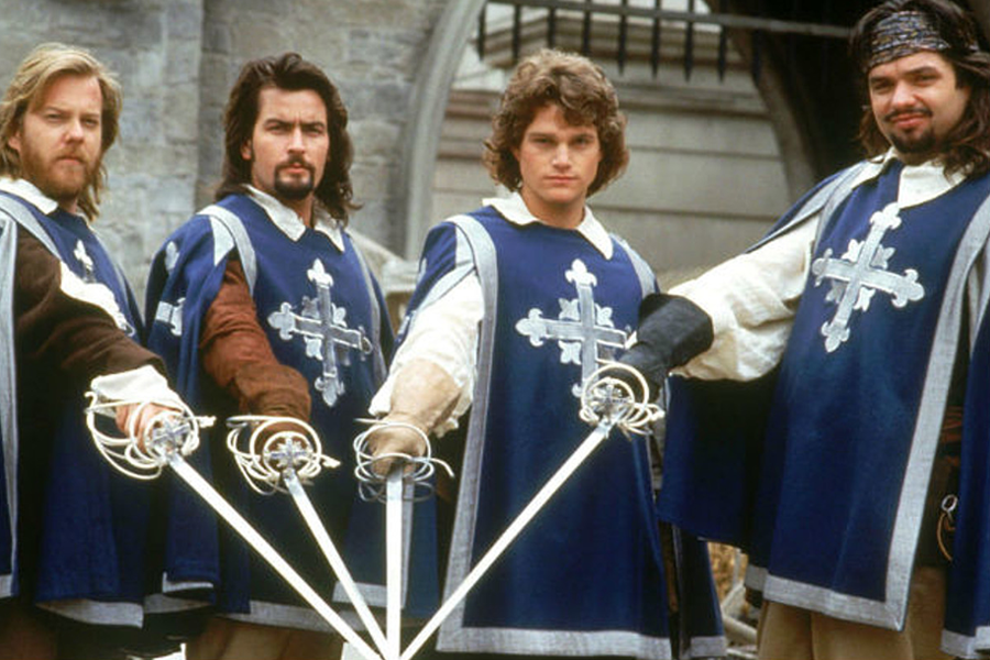 Christopher Eugene «Chris» O'Donnell, «The Three Musketeers», 1993