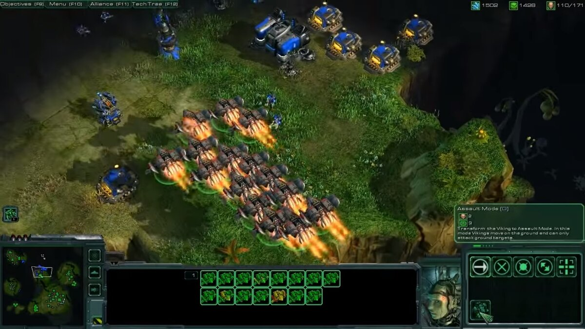 StarCraft II Wings of liberty