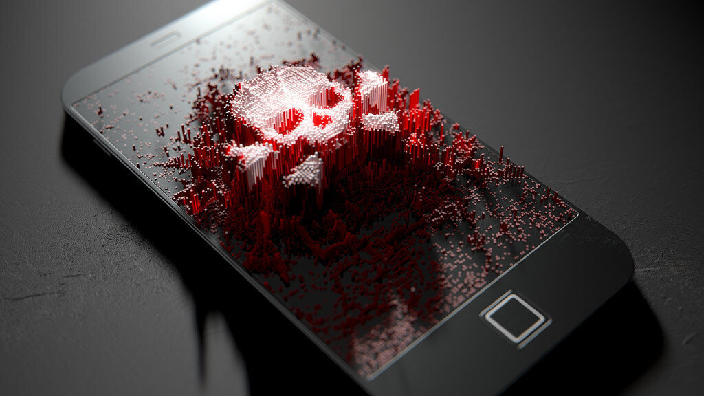 Android virus, quickly rising in the ranking of the most dangerous  Scale_2400