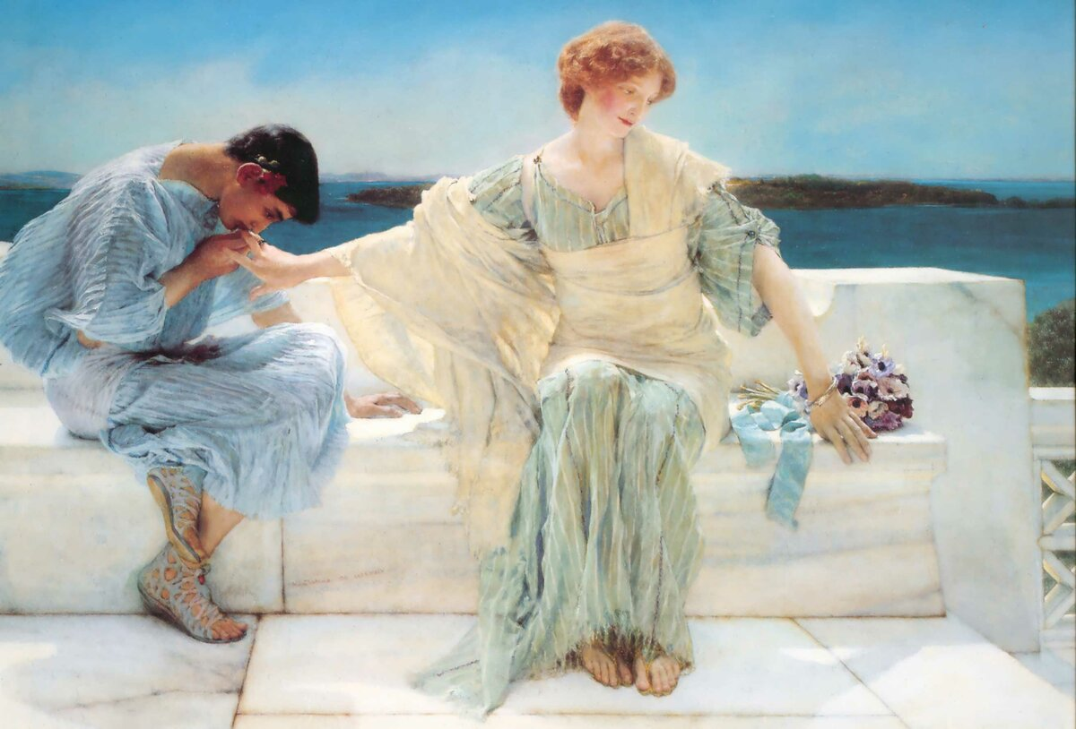 Lawrence Alma-Tadema «Ask me no more», 1906 г.