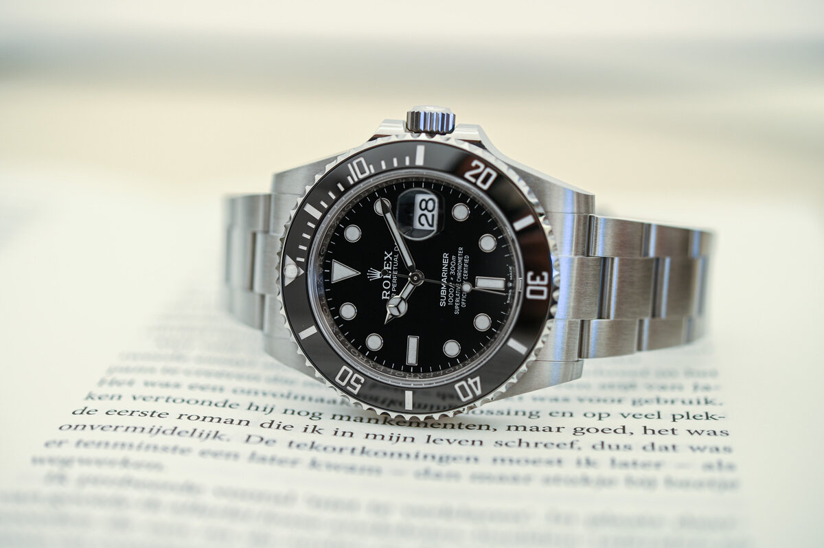 General view of the real legend - Rolex Submariner