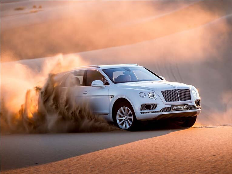 Стандартный Bentley Bentayga