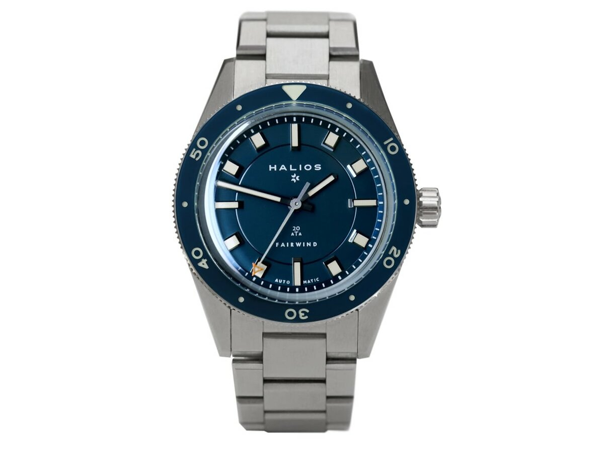 Extremely attractive diving watch from microbrand - Halios Fairwind
