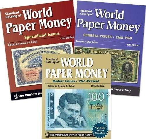 Выпуски «Standard Catalog of World Paper Money»
