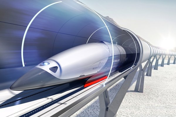 Представлена первая пассажирская капсула HyperloopTransportTechnologies