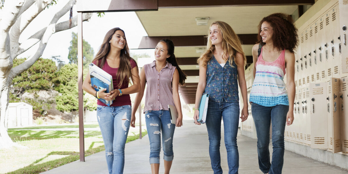 Young american teens — photo 4
