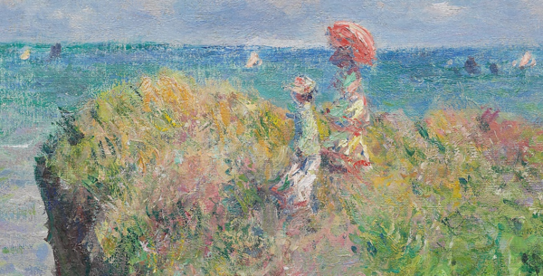 The Cliff Walk at Pourville написана в 1882 г
