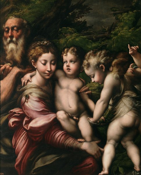 """madonna of the long neck """"madonna of the long neck"""", painted by parmagianino, providied a initially disturbing impression of the madonna and baby jesus, but upon closer examination and understanding the beauty of the painting is revealed."""
