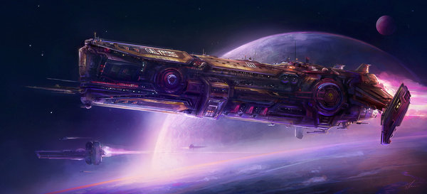 spaceship by Shue13