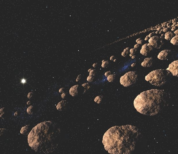 asteroid belt pictures - 800×693