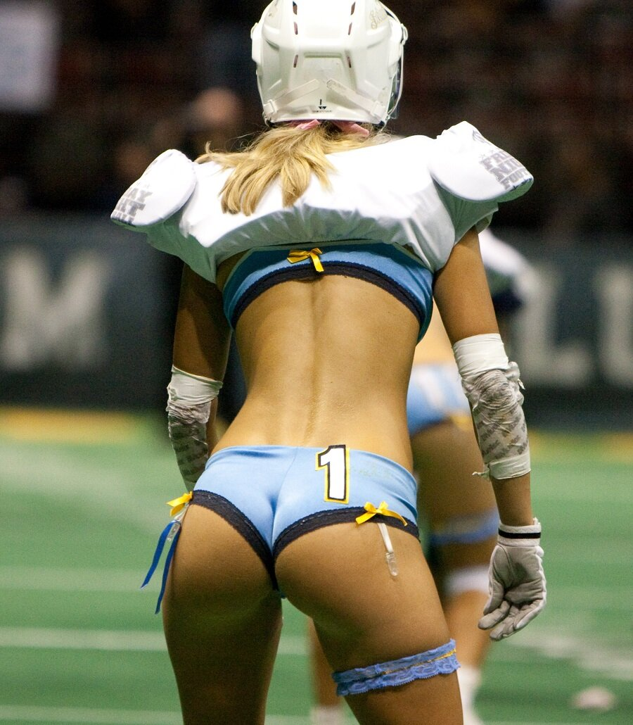 Naked butts football