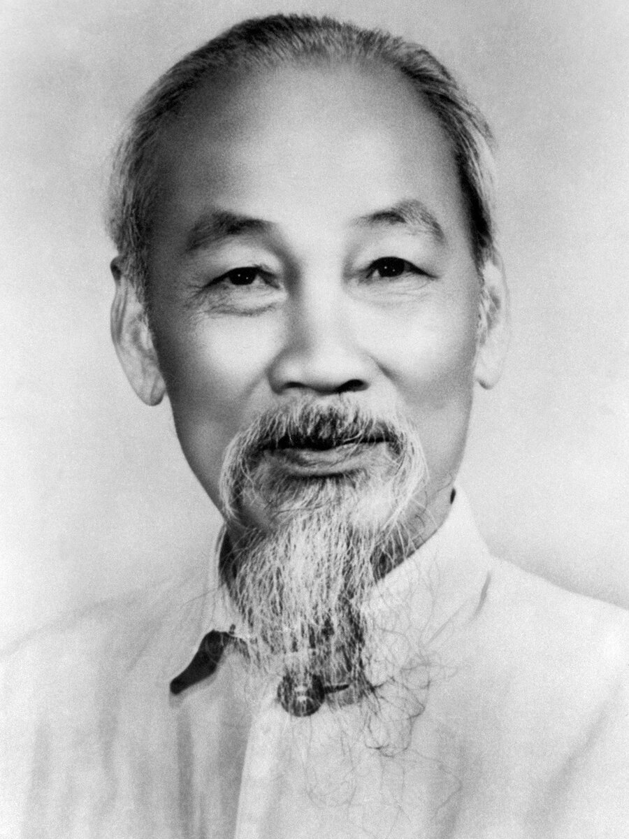 Ho Chi Minh is the founder of the ideology of modern Vietnam.  Photo from the site: turkystan.kz