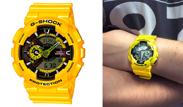 Casio G-SHOCK G-Classic Limited Models GA-110NM-9A с хронографом