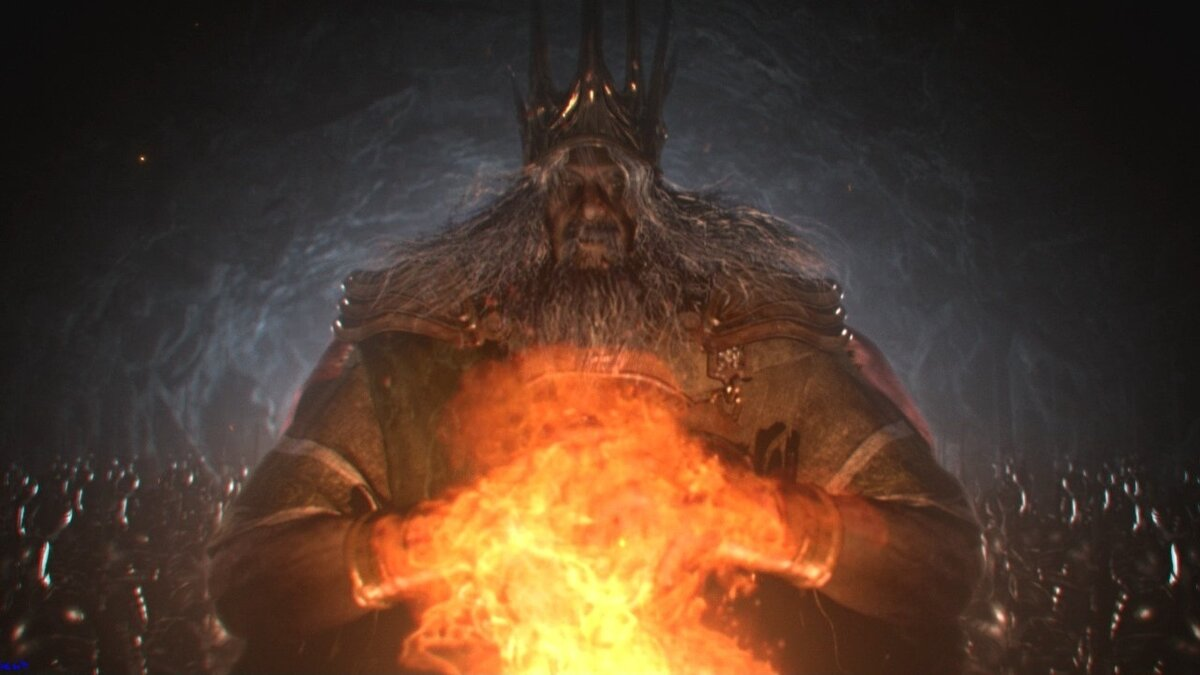 Gwyn, one of the characters in the first part of Dark Souls