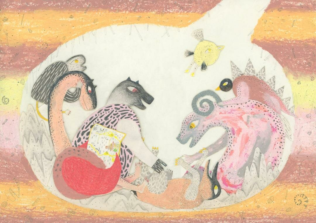 "Mariano Arami ""The flying of the charming beasts"""