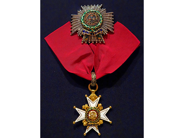 The Most Honourable Order of the Bath, Breast Star and Badge, Knight Commander, Saxe-Ernestine House Order, awarded to Major-General Sir Charles Taylor du Plat [11].