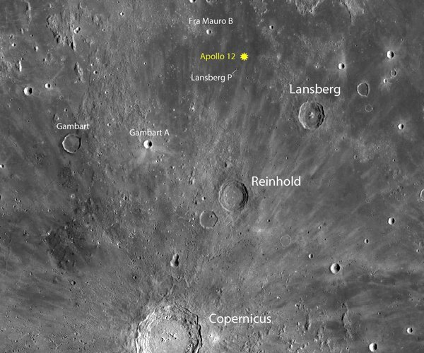 how to see all six apollo moon landing sites sky amp telescope - 540×450