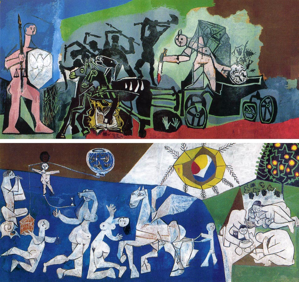 War and Peace / Война и Мир, 1952. Pablo Picasso / Пабло Пикассо.